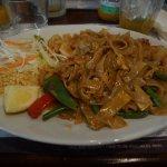 Drunken Noodles with Prawn