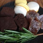 Passion fruit, chocolate, rosemary, jasmine