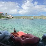 Dinghy Dock: This is a view I long to revisit any time I think about Culebra.