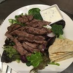 Lamb salab with dressing on the side