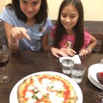 Everyone loved the Margarita Pizza with the fresh Mozzarella- I think the third one down on the