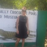 a about to enter Crocodile land