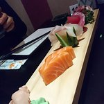 One of the selections, giving a good range of different sushi