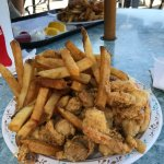 """Fried Whole Belly Clam Plate """"Before"""""""