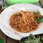 Spaghetti with Rabbit