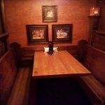 Romantic booth