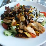 bunter Salat als Hauptspeise, Lecker!!!