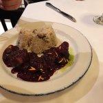 Venison with Mushroom Rice