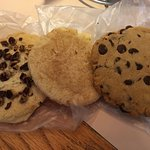 Cookies from the bakery.
