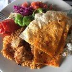 Chicken shish kebab entree (lunch)