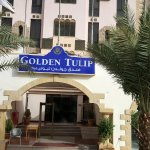 Golden Tulip Aqaba entrance