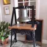 Old local school bell