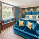 Beautifully refurbished in 2016 with superking size bed and ensuite with spa bath/walk-in shower