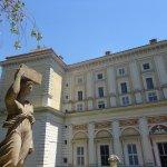 Palazzo Farnese visto dai giardini