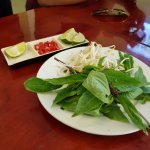 Side dish to our pho.
