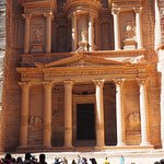 The crown jewel of Petra -- The Treasury