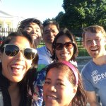At the White House with Kevin to finish off our 4hr walking tour
