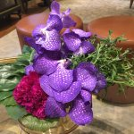 Fresh flowers in the Lobby - wonderful smell