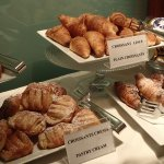 Breakfast buffet - for those with a sweet tooth