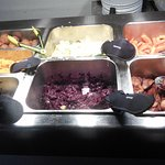 Veg and the rest of the Carvery choice.