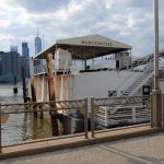 Barge Music on the Brooklyn Bridge Park pier