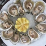 A seafood concert! Fresh and delicious seafood, great view to the lake and great staff to please
