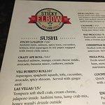 diverse menu