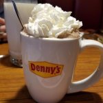 a lovely cup of hot chocolate