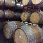 Oak barrels at Dragonette