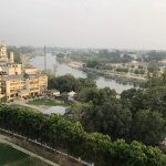 River Gomti from our room
