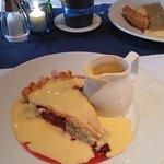 fresh fruit pie & lashings of custard