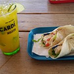 Passionfruit Mojito + Fish Tacos