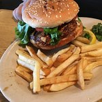 Lunch, fried shrimp for me 🍤