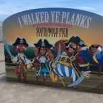 End of the pier photo opportunity with friends..... shiver me timbers!