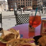 I discovered the Spritz! Very popular and refreshing summer drink! I love Lucca!