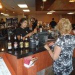 Also have a beer & wine menu at register ( strange)