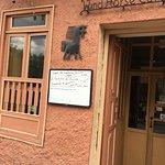 Exterior photo of the WindHorse Cafe in Cuenca, Ecuador.