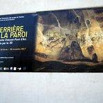 Informatie over de extra tentoonstelling gewijd aan de grot Chauvet - Pont d'Arc