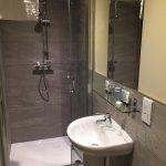 en-suite at our room, Benleva Hotel, Drumnadrochit