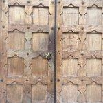 A door at Triniity College
