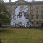 Trinity college wall art