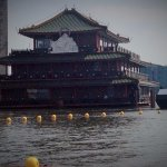 Famous floating Chinese restaurant