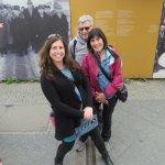 Straddling the Berlin Wall