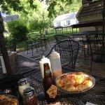 Pizza, salad & beer