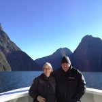 such a fabulous day on Milford Sound.