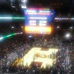 At NBA Finals Game 3 upstairs Great Fun:)