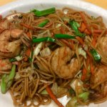 The best authentic Shrimp Lomein!!  Reminds me of my childhood when my Chinese grandfather cooks