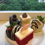 Love their desserts at the lounge!