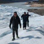 Caminando sobre el glaciar Perito Moreno