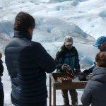 Whisky y chocolate en el glaciar ! Que mas se puede pedir!!!